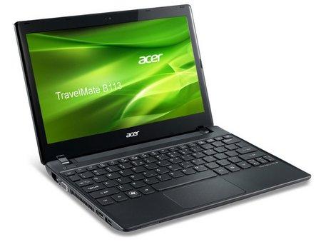 Acer TravelMate B113-M-323c4G50akk - изглед от пред